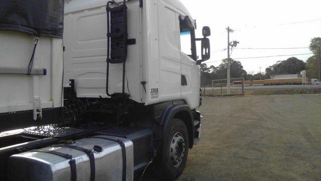 Scania 420 R124 2006 e Carreta Guerra 2001 - Foto 18