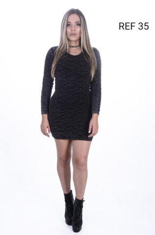 Atacado Vestido de Lã Premium  - Foto 3