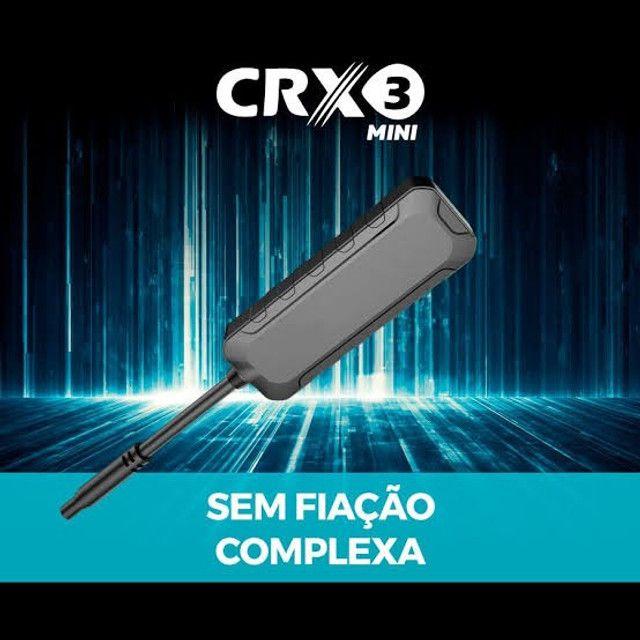 Rastreador Veicular CRX3 Mini Homologado Anatel Instalado com Site e APP - Foto 2