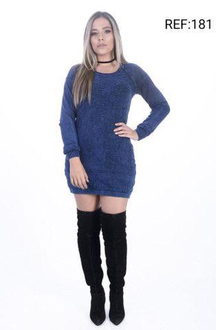Atacado Vestido de Lã Premium  - Foto 2