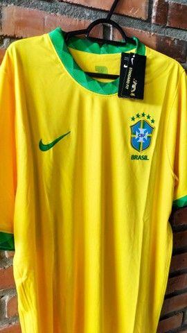 Camisa Seleção Brasileira -  Torcedor  - 2021 - Foto 3