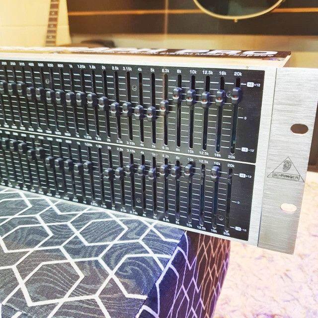 Equalizador behringer Fbq 6200 - Usado - Somos Loja - Foto 6