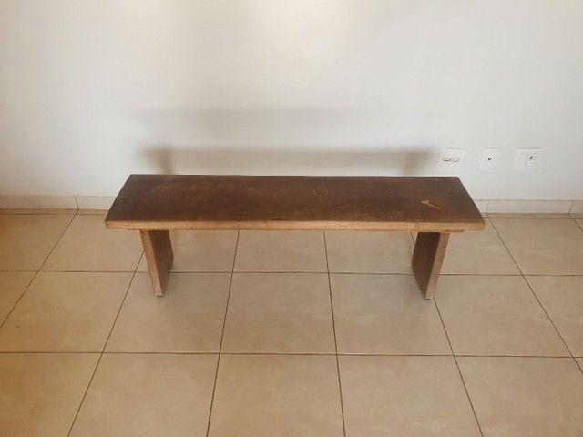 Vende-se banco madeira rústica. - Foto 2