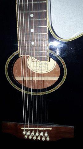 Violao 12 cordas condor - Foto 2