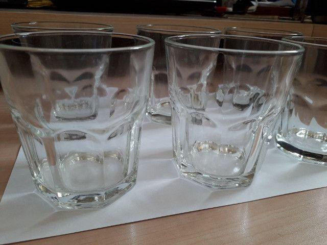 Conjunto Copos de Vidro 06 unidades - 300 ml - Foto 2