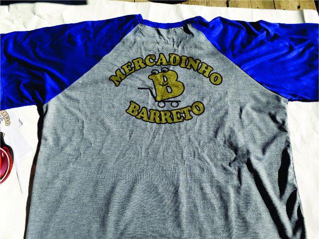 Camiseta Raglan Personalizada - Foto 3