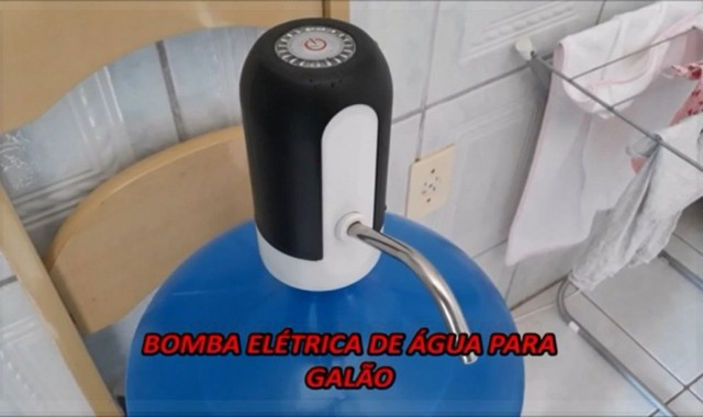 Bomba Elétrica - Recarregável - Frete Grátis! - Foto 2