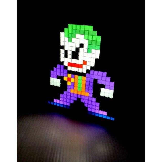 Luminaria  Pixel - Joker Coringa - DC ?ULTIMA PEÇA? - Foto 2
