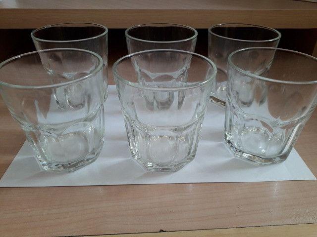 Conjunto Copos de Vidro 06 unidades - 300 ml