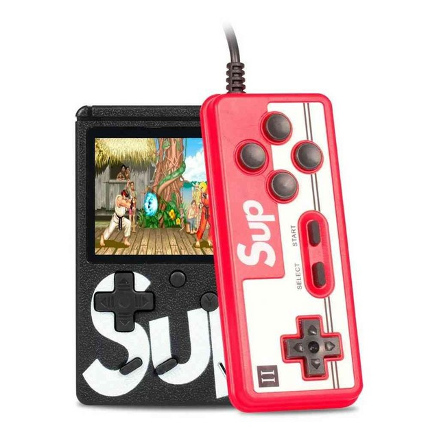 Mini Vídeo Game Portátil 400 Jogos Retro Clássico Controle 2 Jogadores SUP<br><br>Entrega gratis - Foto 3
