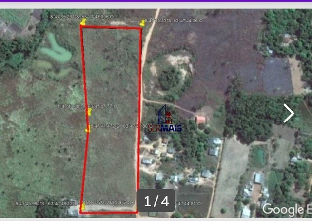 Terreno à venda, 35 m² por R$ 800.000 - Área Rural de Porto Velho - Porto Velho/RO - Foto 2