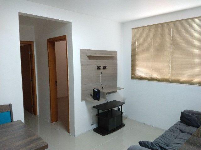 Vendo apartamento semimobiliado térreo 2 quartos - Foto 19