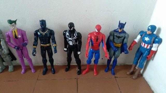 Coleção de bonecos da Marvel fone * - Foto 4