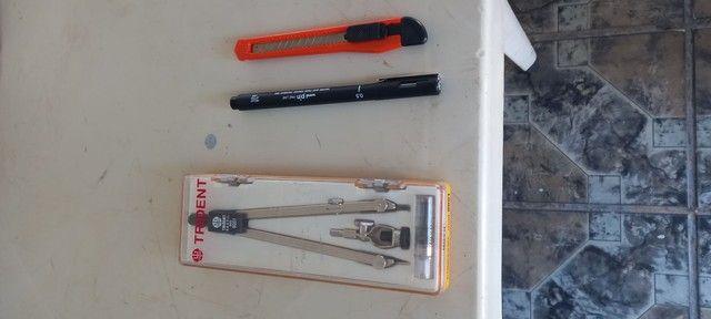 Kit de desenho técnico  - Foto 3
