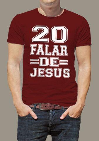 camisas evangélicas camisetas evangélicas camisas evangélicas personalizadas - Foto 4