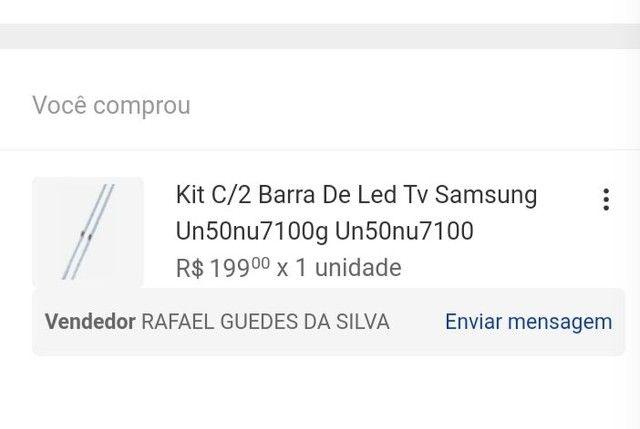 2 Barras de LED para tv Samsung