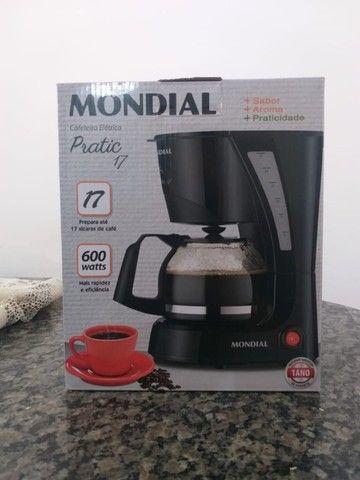 Cafeteira Elétrica Mondial Pratic NC-25 17 Xícaras ? Preta - Foto 4