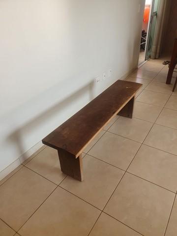 Vende-se banco madeira rústica. - Foto 3