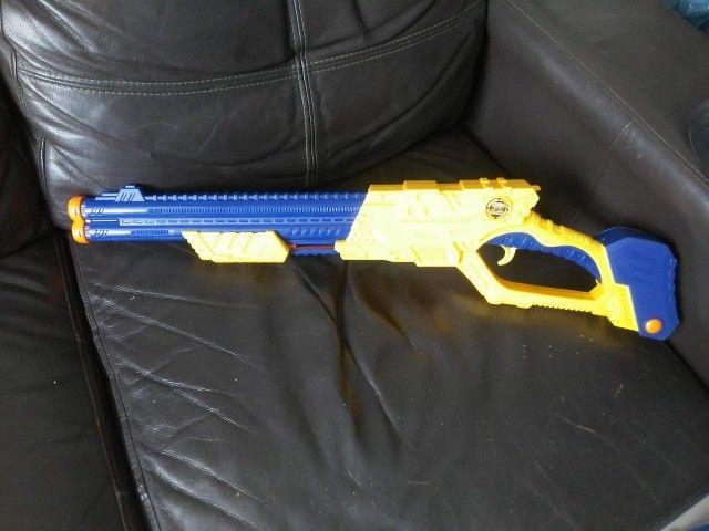 X Shot Vigilante -Estilo Nerf -  Arma de brinquedo