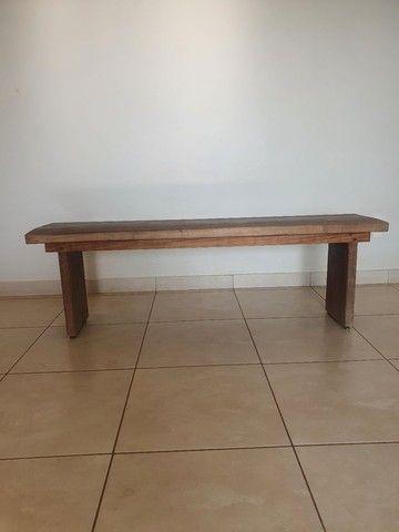 Vende-se banco madeira rústica.