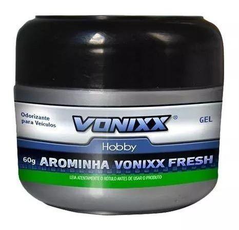 Odorizador Automotivo Arominha Gel Fresh 60G 60G Vonixx