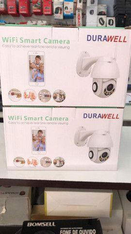 Câmeras externas wi-fi a prova dágua