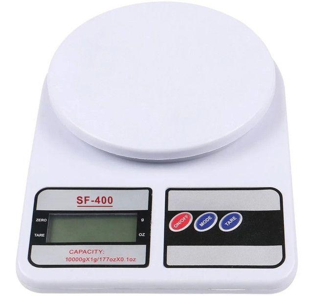 Balança de Cozinha Digital Megatom 7 Kg SF400 com Tara MGT
