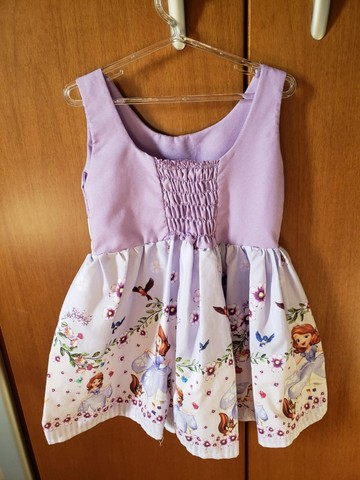 Vestido Princesa Sofia - Tam 3 - Foto 2