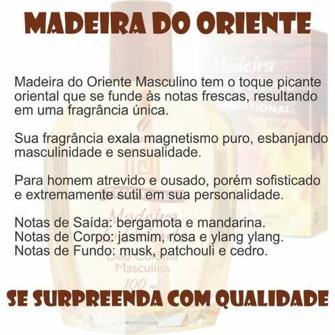 Madeira do Oriente - Deo Colônia Masculina 100 ml Natubelly - Foto 3