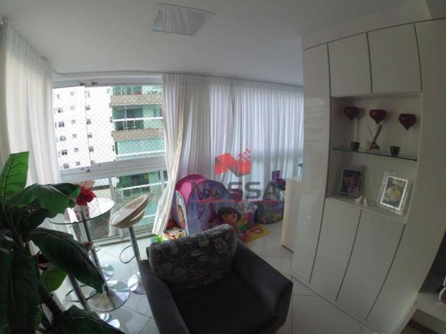 Apartamento 3 quartos em Jardim Camburi com 4 vagas, montado e decorado - Foto 6