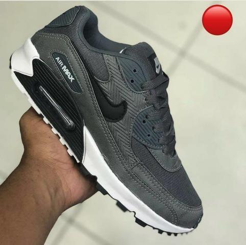 cb015b63188 Tênis Nike Air Max 90 Masculino Feminino Promoção - Roupas e ...