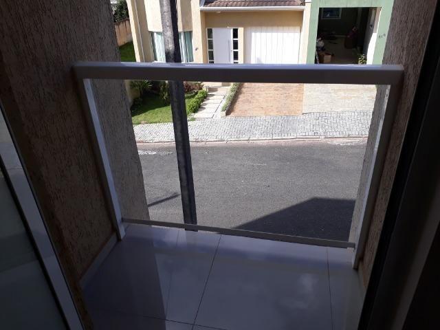 Sobrado em condomínio fechado com 120 m² de área construída + espaço externo - Foto 18