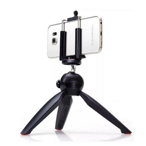 Mini Tripé Monopod Articulado Yunteng YT-228 para Câmera Celular + Brinde Suporte par - Foto 4