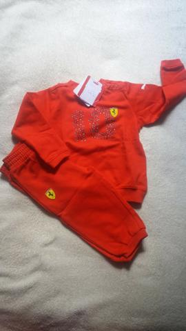 9f299c9aa86 Conjunto infantil Puma Ferrari Tam 1 ano - Artigos infantis - Com ...