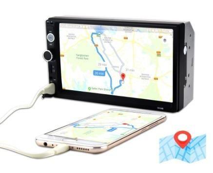 Central Multimídia Display Digital Bluetooth, Usb, Fm - Foto 5