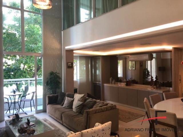 Apartamento duplex no Cocó, totalmente mobiliado - Foto 4