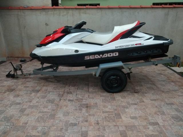 Jet Ski Seadoo GTS 130 Ano: 2012 - Foto 4