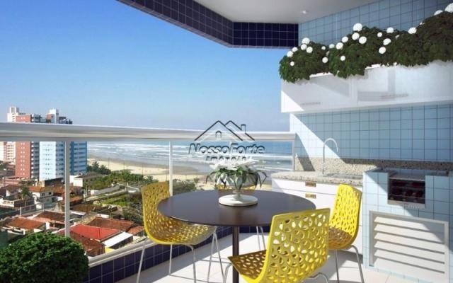 Lançamento Apartamento Vista Para o Mar no Caiçara em Praia Grande - Foto 7