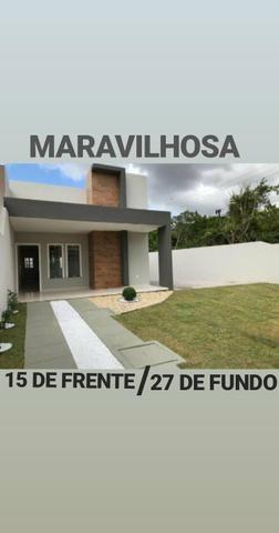 Casa com TERRENO GIGANTE !! No bairro Pedras Fone Casa (85) 99619 6009