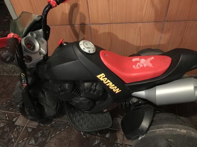 Moto elétrica infantil bandeirante - Foto 5
