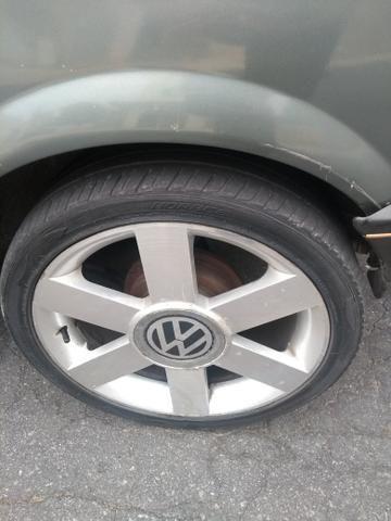 Rodas 17 sem trincas e soldas pneus 205/40 meia vida - Foto 2