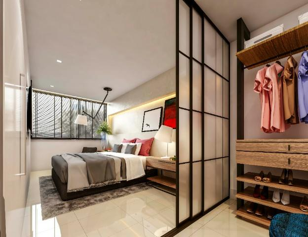 (MRA) TR36882-Apartamento na Aldeota, J Smart Jose Vilar, 37m², 1 Vaga
