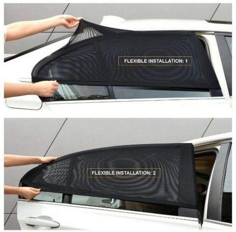 Cortina para vidro traseiro do carro - Foto 2