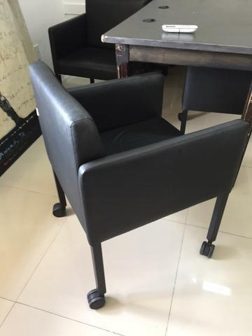 Cadeiras para mesa de reunião (Motivo Mudança) - Foto 3