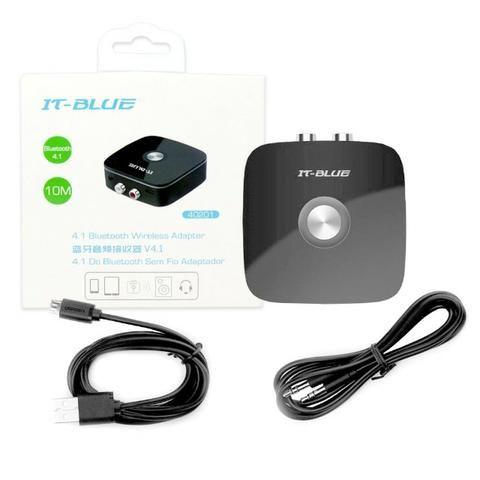 Receptor de Áudio Bluetooth V4.1 40201 It-Blue Rca Auxiliar P2 3.5 Som Smartphone Celular - Foto 2