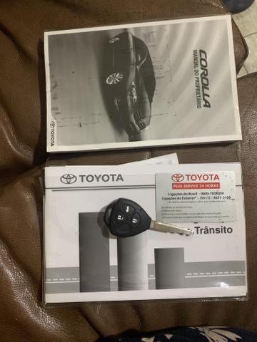 Toyota corolla 2010 1.8 GLI flex 4p manual - Foto 12