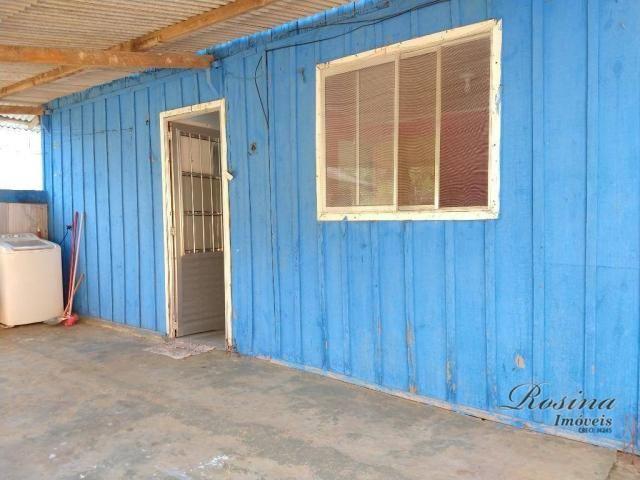 Casa térrea de madeira com 3 quartos - Reta da América - Morretes/PR - Foto 8
