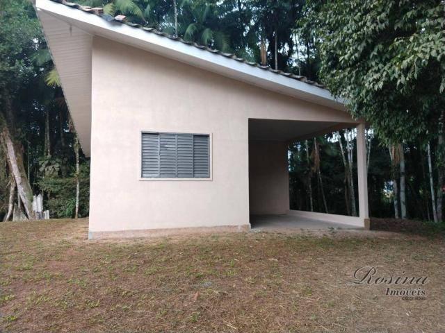 Chácara com fundos para o rio - 2559 m² por R$ 195.000 - América de Baixo - Morretes/PR - Foto 6