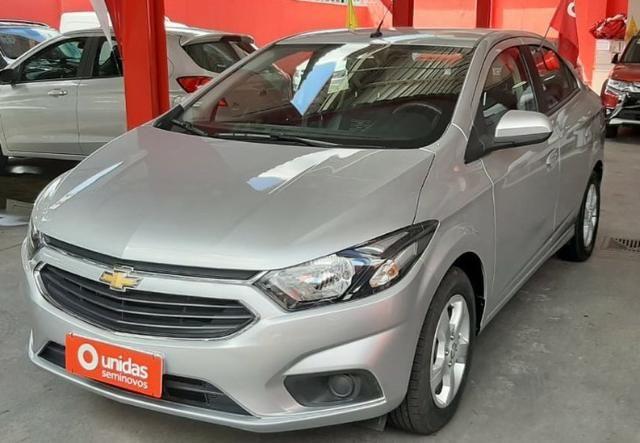 Prisma Lt 1.4 2019 Prata 30mil kms - Financia sem entrada - aceita carro na troca - Foto 14