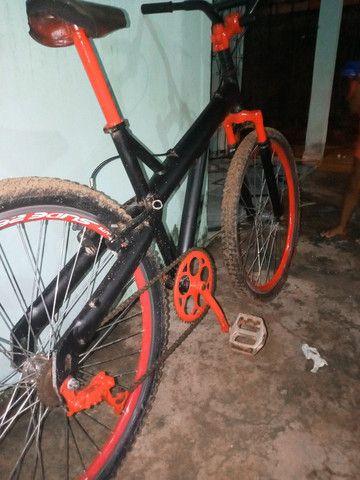 Vendo bicicleta quadro de Alumínio
